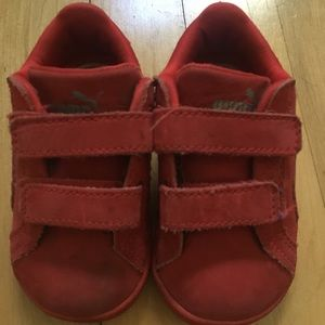 Good used condition, puma toddler shoes